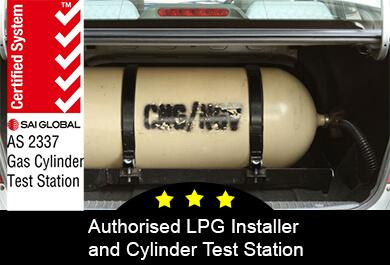 Australian standards symbol for LPG installations